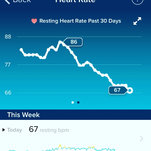 diet on heart rate